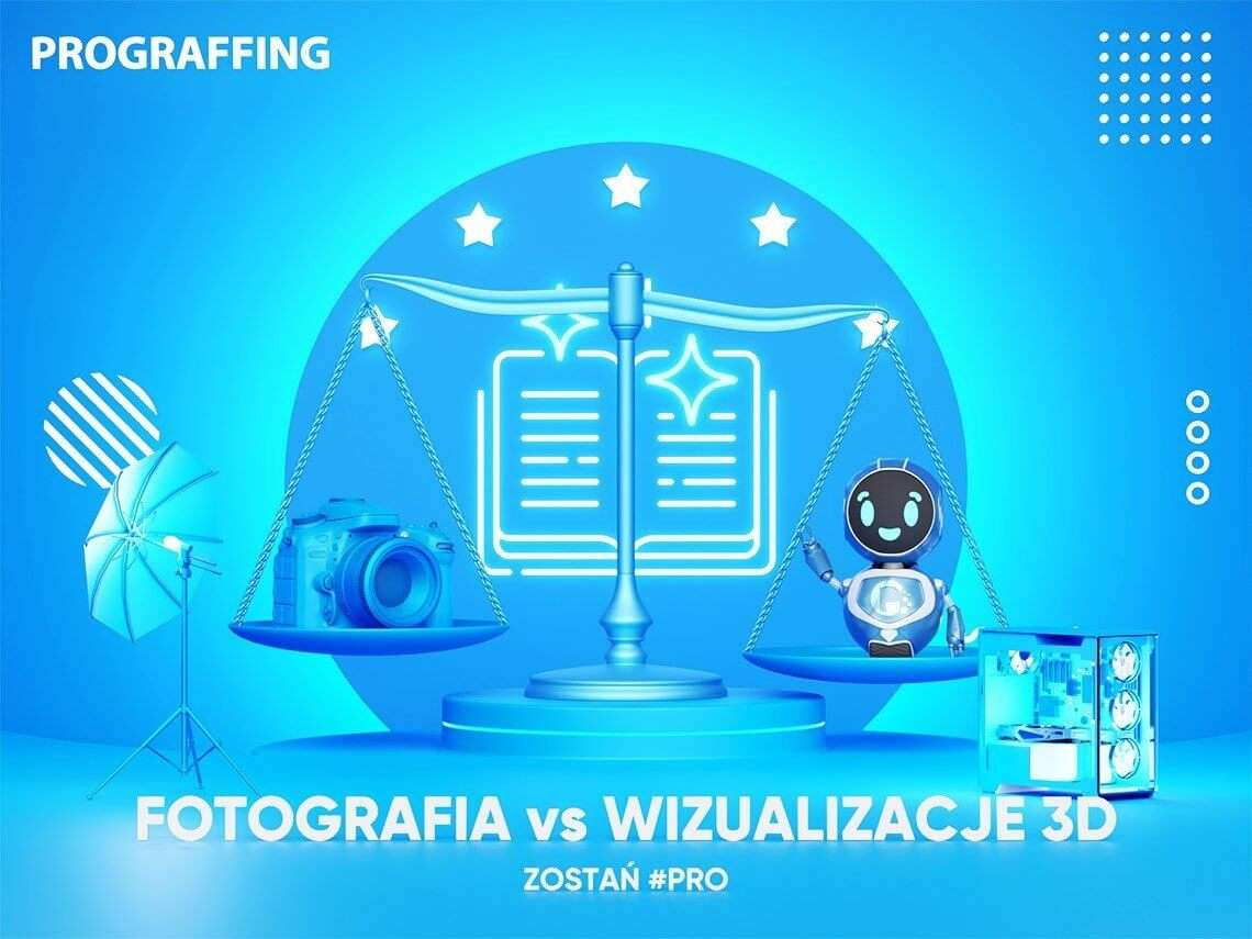 Wizualizacje 3D vs fotografia. Który sposób przedstawienia produktu powinien wybrać sprzedawca internetowy?