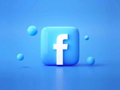 logo facebooka 3d